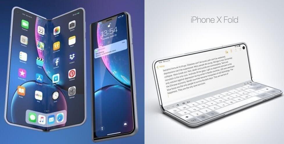 报告:苹果准备折叠屏iPhone/iPad 用户愿花2万购买
