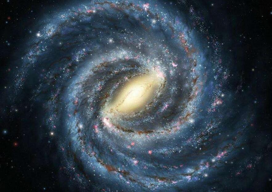 没有边际的银河系,大到超出人们的想象
