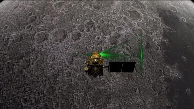 """印度""""丢了""""一天的月球着陆器又找回来了"""
