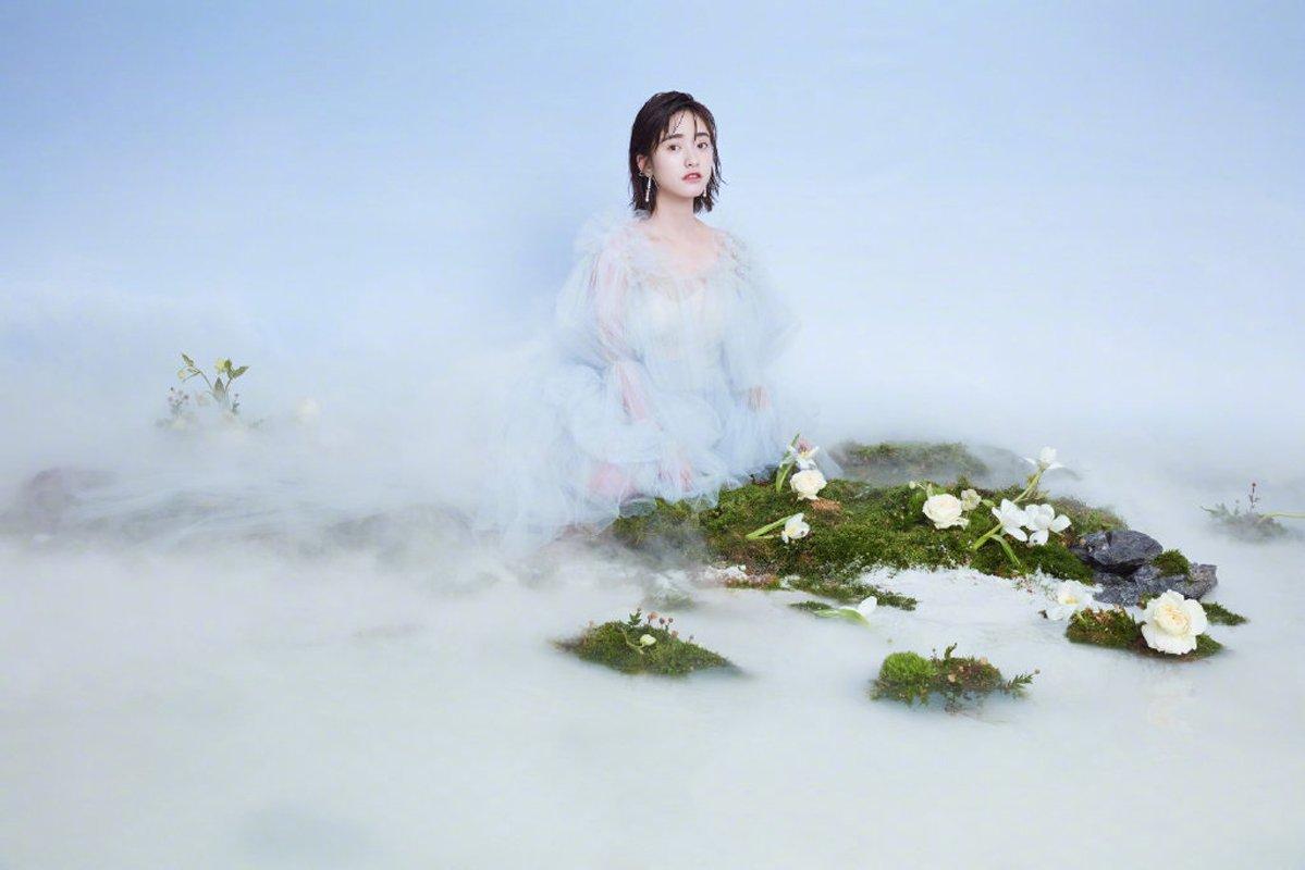 沈月唯美仙气时尚写真图片