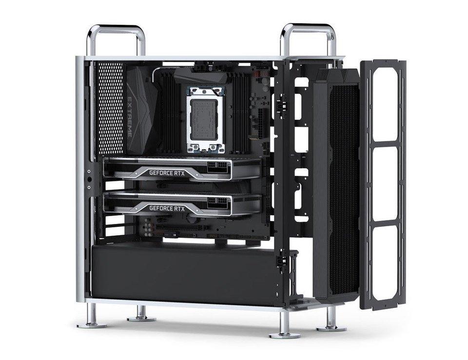 這款Dune Pro機箱能讓你的PC偽裝成Mac Pro