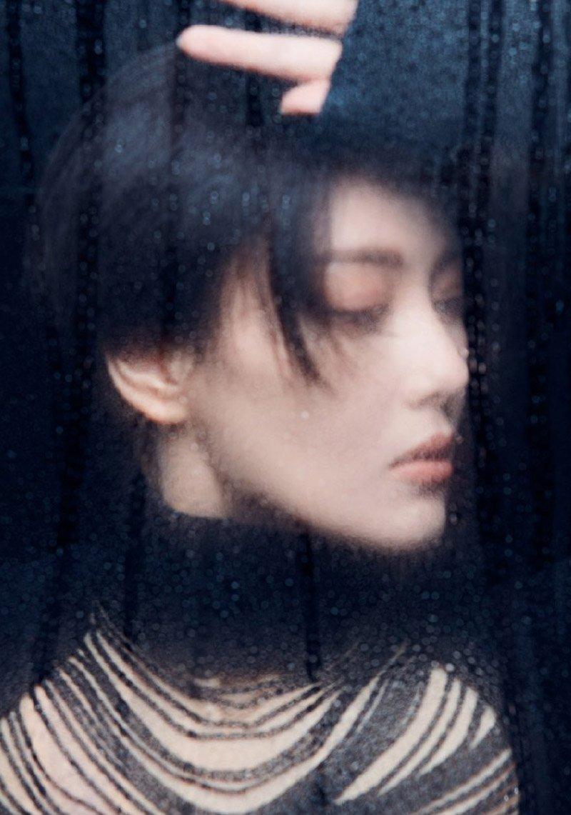 张馨予短发造型魅力写真图片