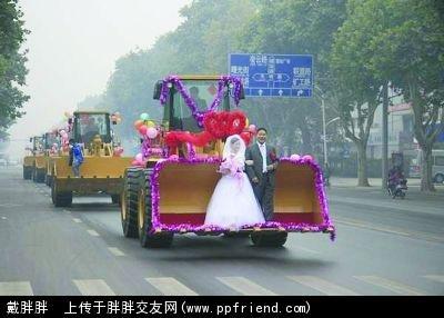 婚车拒绝豪华 另类婚车集