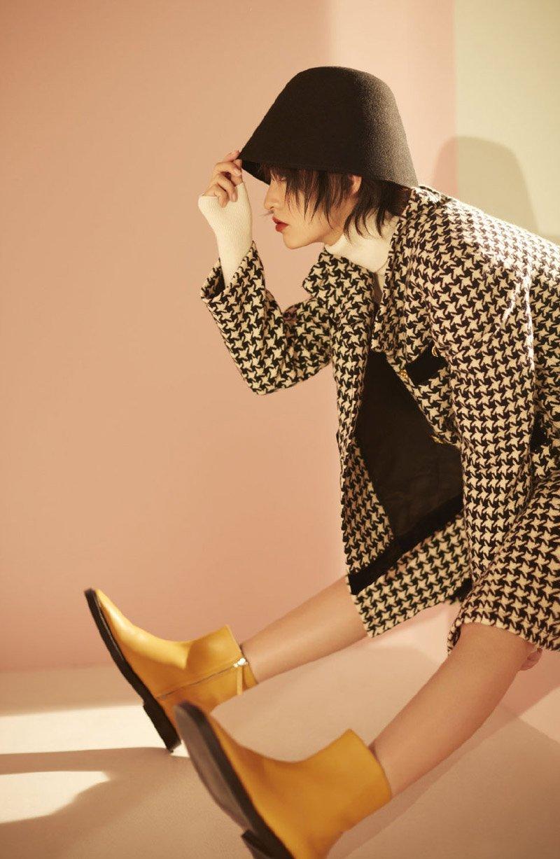 李沁优雅沉静时尚写真图片