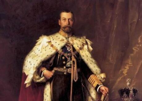 乔治五世改名的故事,英国温莎王朝的由来