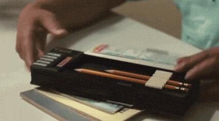 小时候要是有这样的文具盒你会开心成什么样子