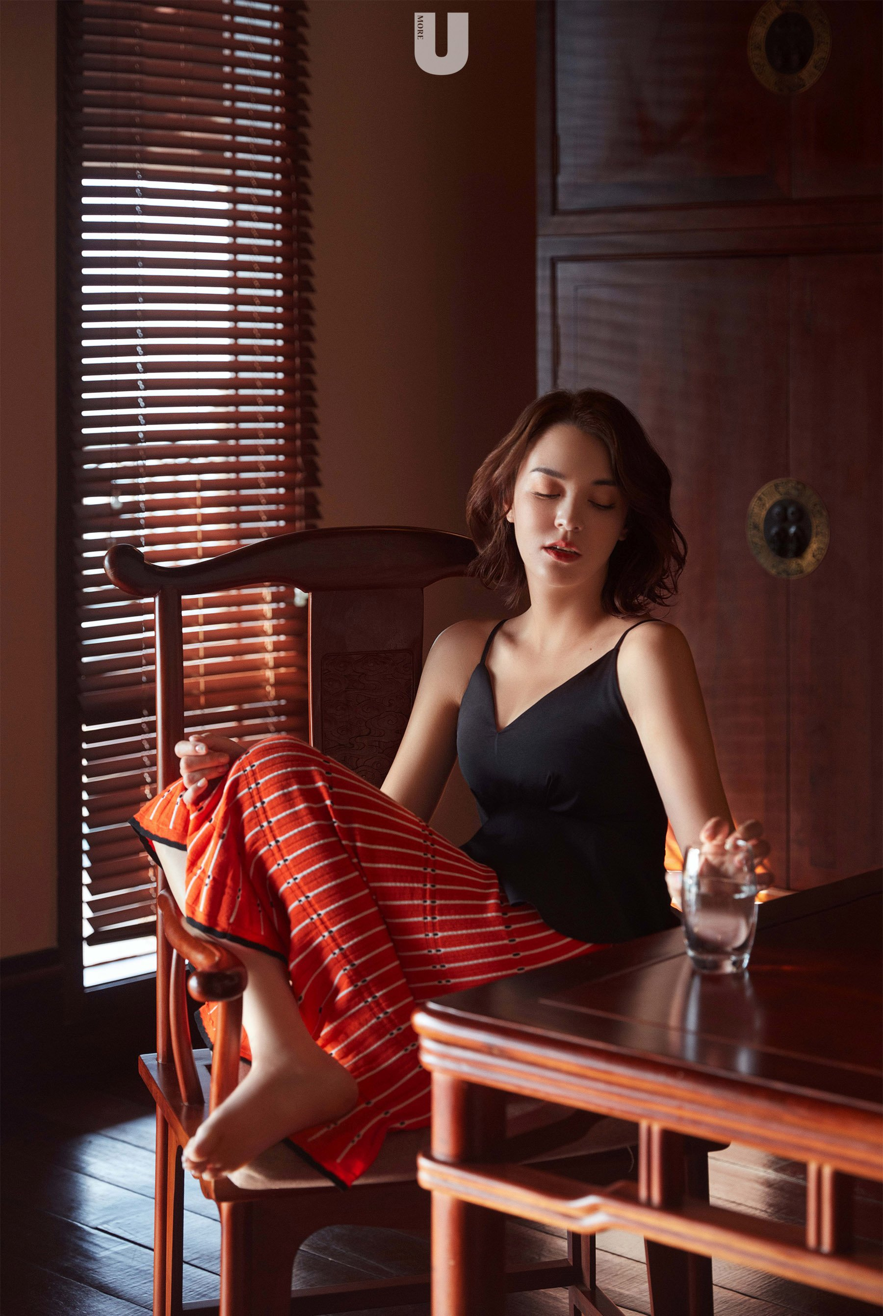张榕容魅力风情大片写真图片