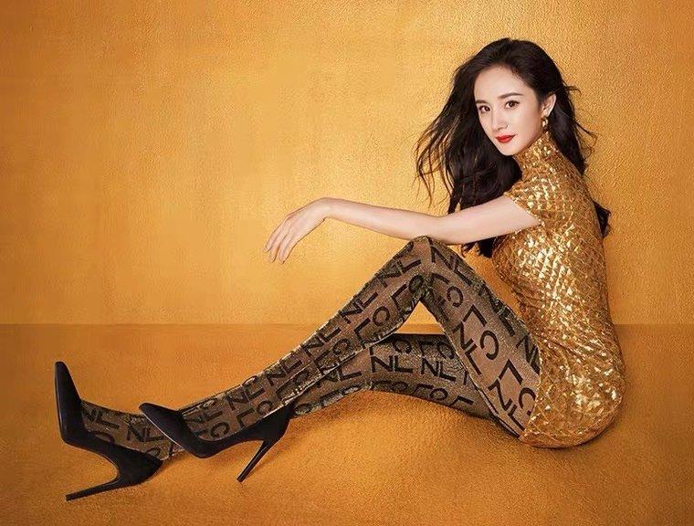 杨幂妩媚性感代言写真图片