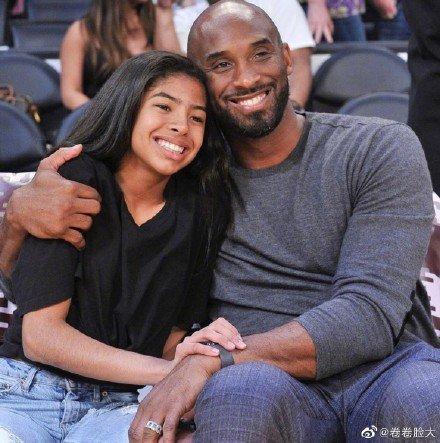 篮球巨星科比意外去世,机上还有他最疼爱的二女儿gigi