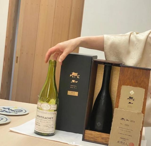 王思聪晒高档日料88万的红酒却没有网红作陪,网友:这不是王思聪的风格!