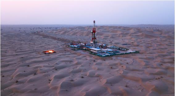 塔里木发现石油