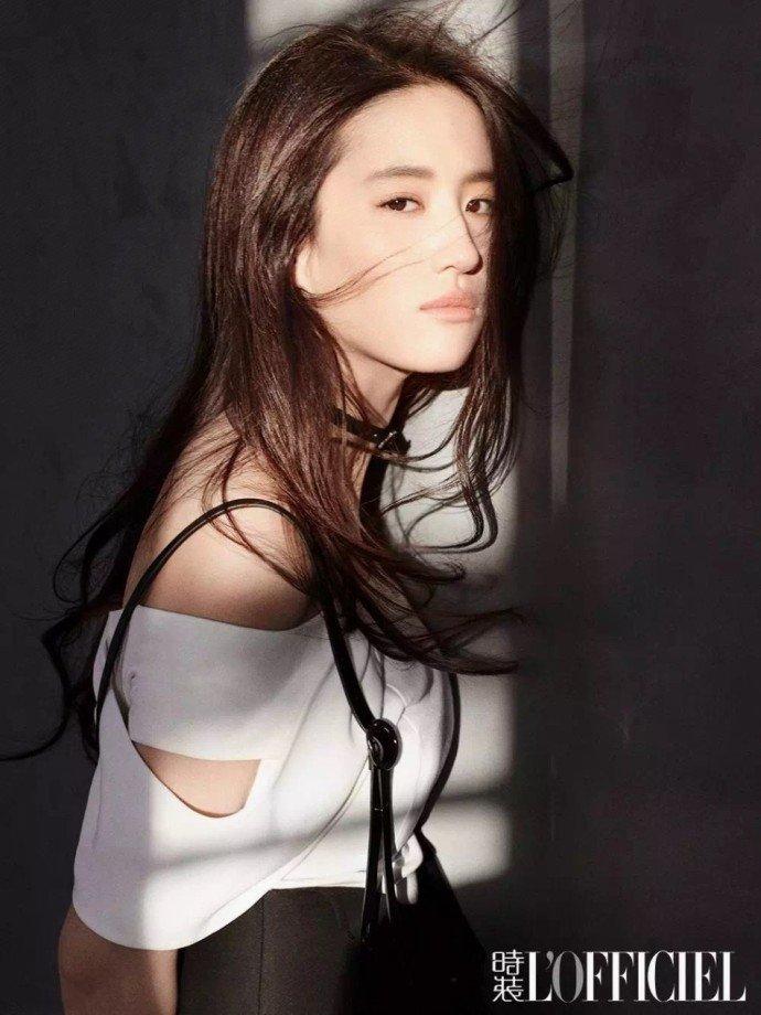 刘亦菲时尚杂志写真图片