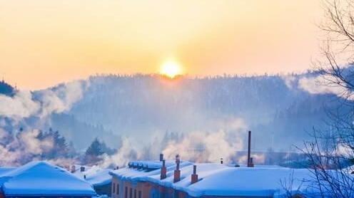 黑龙江齐齐哈尔市下了一场近40年未见的大雪?