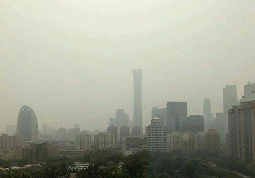 沙塵午后影響北京具體影響范圍,沙塵午后影響時間要持續多久