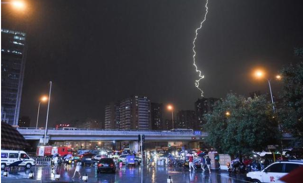 北京雷雨天气