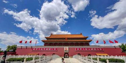 好久不见,北京的蓝天白云超美的,愿沙尘暴和雾霾远离北京!