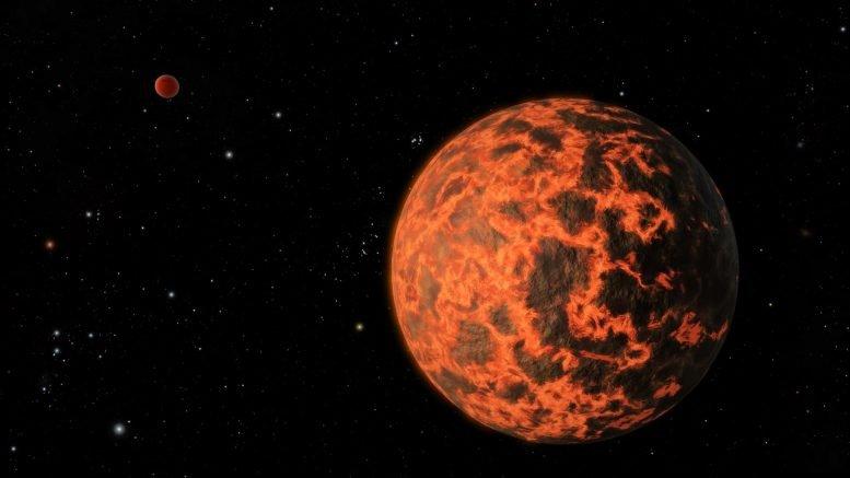 海王星大小的行星可能是更大行星的残余核心