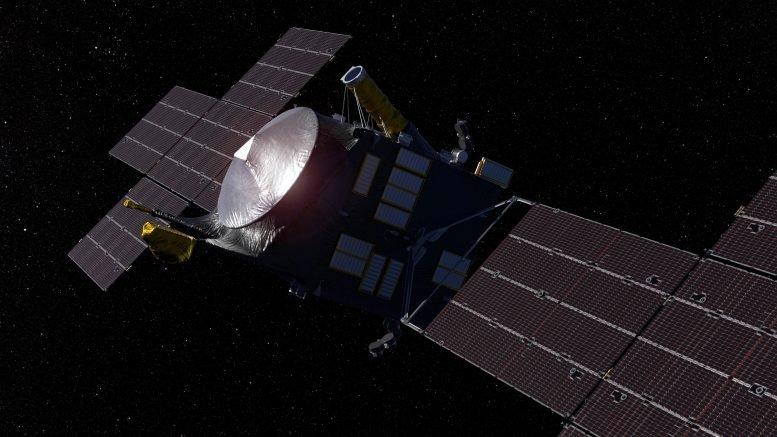 """美国国家航空航天局探索富含金属的小行星的""""心灵""""宇宙飞船设计完成"""