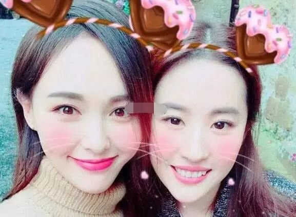 唐嫣为刘亦菲庆生,连续5年为她庆生,真是羡慕了!