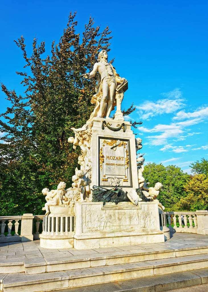 莫扎特雕像