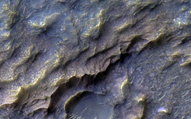火星表面岩