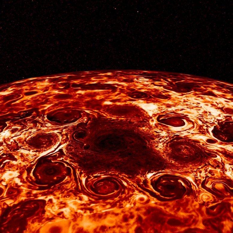 木星外层大气延伸数千英里
