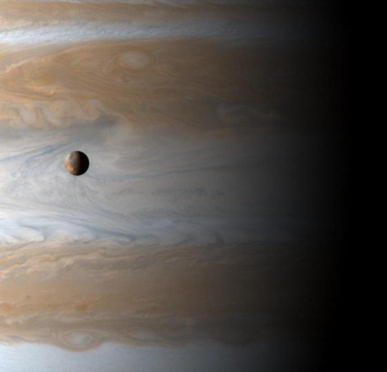 月球木卫一轨道木星