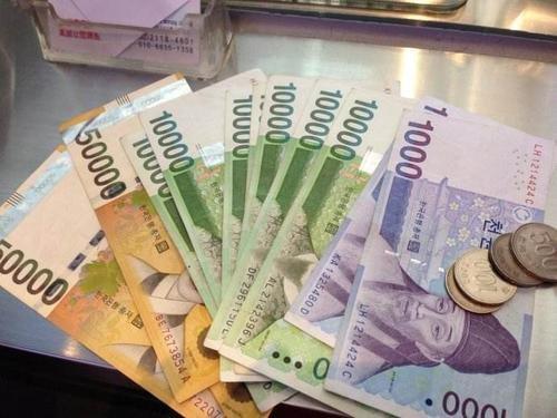 两千万韩元等于多少人民币,能够在韩国生活几个月呢?