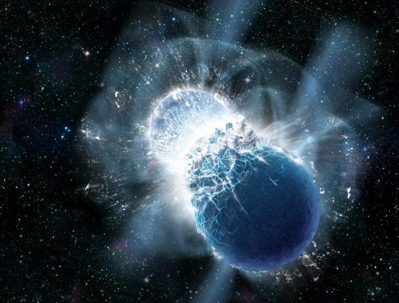 碰撞中子星