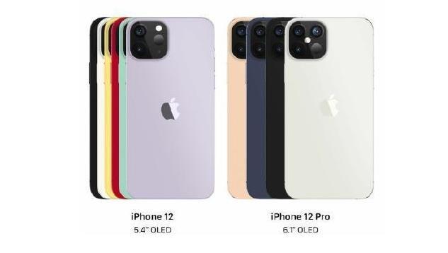 iPhone12命名曝光详情,最新的iPhone有几个系列分别叫什么,mini什么意思?