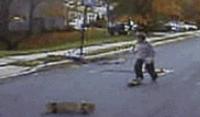 玩滑板真的太废腿了