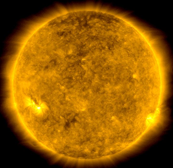 美国宇航局太阳动力学观测站的太阳观