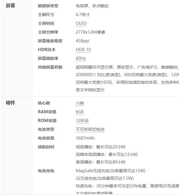 iPhone12 Pro参数.png