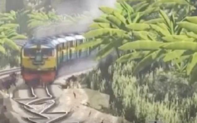 这样的火车你敢上吗?