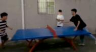 乒乓球适合慢慢打