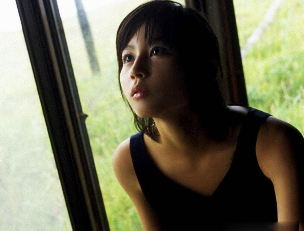 日本清纯女神堀北真希写真