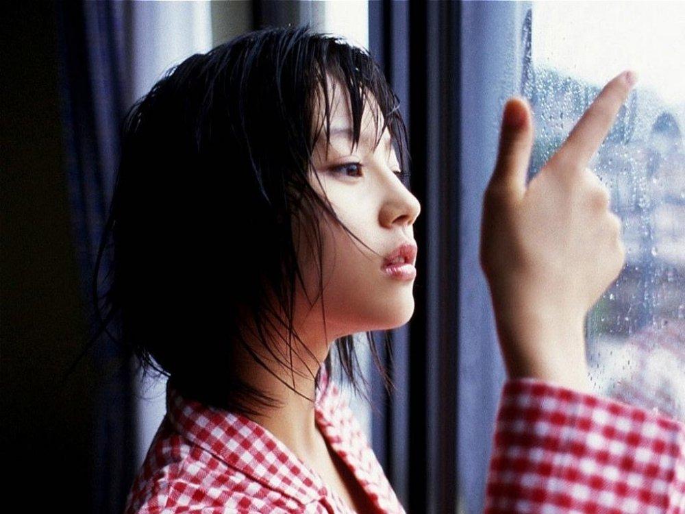 日本美女明星堀北真希清纯写真
