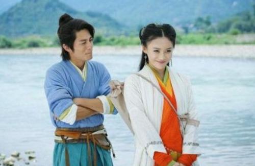 饰演令狐冲任盈盈的霍建华袁姗姗最近怎么样?