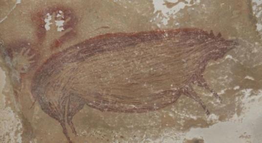 印尼发现已知世界最古老洞穴壁画画的内容是什么,洞穴壁画是怎么确定年龄的呢?