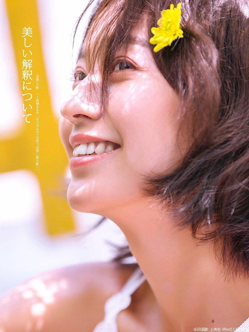 夏日清新活力美少女日式写真