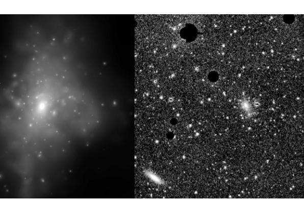 测量暗物质分布的方法