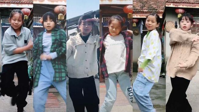 11岁农村女孩院子里跳舞引网友喊话出道!