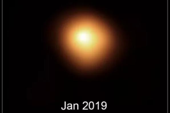 猎户座中的参宿四2019年开始变暗,参宿四会继续变暗吗?