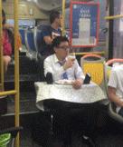 公交车上的vip用户