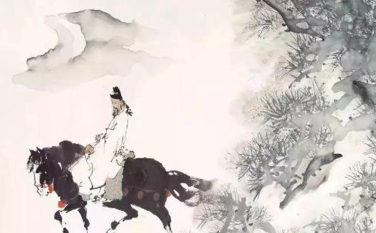 诗人李白和朋友贾至同游洞庭湖,竟然写下如此绝句