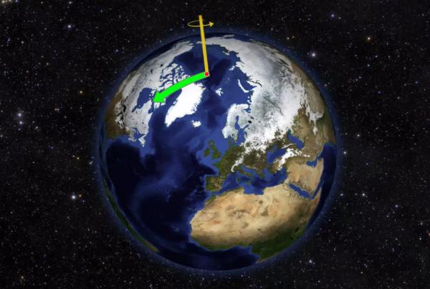 气候变化一直在改变地球的轴心 至少有30年时间?为什么会这样呢?
