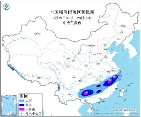 8省区部分地区有大到暴雨,暴雨天气有哪些危害?如何预防呢?暴雨预警颜色等级