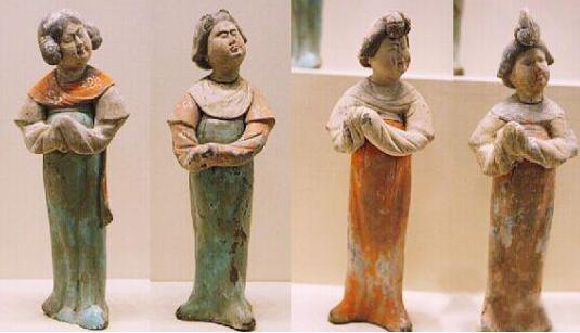 博物馆现心塞女俑长啥样,唐代女俑都有哪些装扮,唐代陶俑分为哪几类