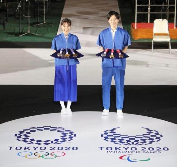 东京奥运会颁奖音乐服装亮相体现什么设计理念,东京奥运会主题曲叫什么名字