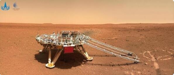 天问一号着陆火星首批科学影像图火星地表长啥样,天问一号还回地球吗及探索火星的意义